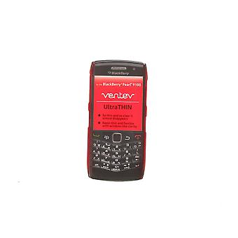 Uiterst dunne Case for Blackberry 9100 Pearl (rood)