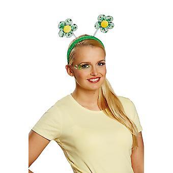 Flower headband Green