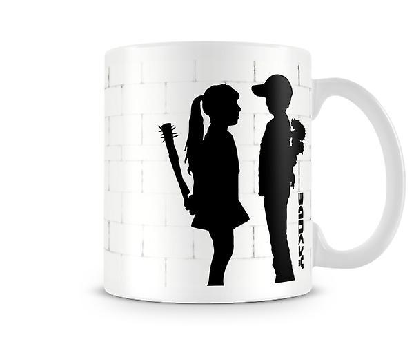 Meets Mug Banksy Girl Banksy Boy 3R4jL5A