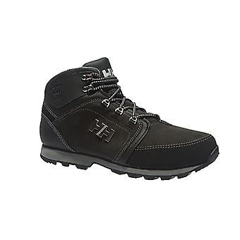 Helly Hansen Koppervik mens leather winter boots black