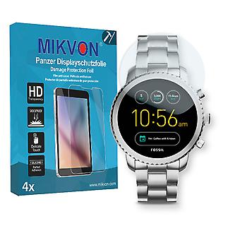 Fossil Q Explorist 3. Gen Screen Protector - Mikvon Armor Screen Protector (Retail Package with accessories)