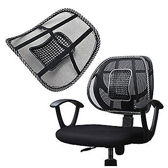 Mesh Back Lumbar Support Massage Beads For Car Seat Chair Massage Cushion