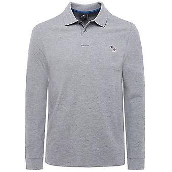 PS by Paul Smith Regular Fit Zebra Long Sleeve Polo Shirt