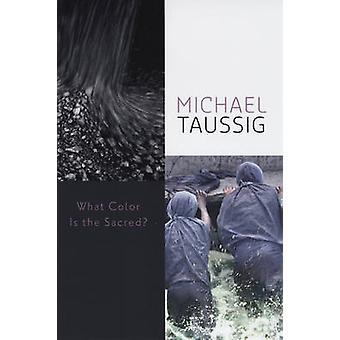 ما هو اللون المقدس؟ من مايكل تاوسيج--كتاب 9780226790060