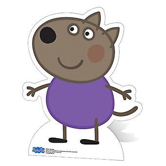 Recorte de cartón de tamaño natural de Danny Dog / pie - Peppa Pig
