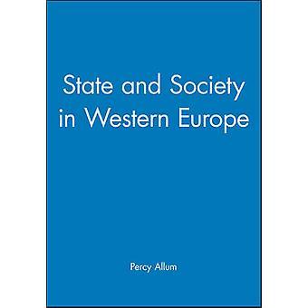 パーシー Allum - 9780745604107 Bo によって西ヨーロッパの国家と社会
