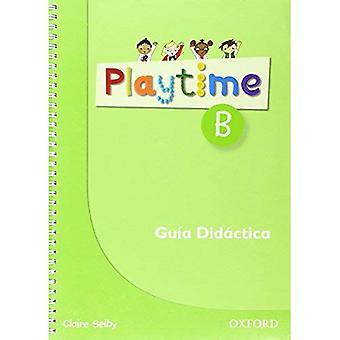 Playtime: B: Spanish Teacher's Book