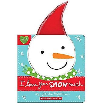 Ik hou van je sneeuw veel [Board boek]
