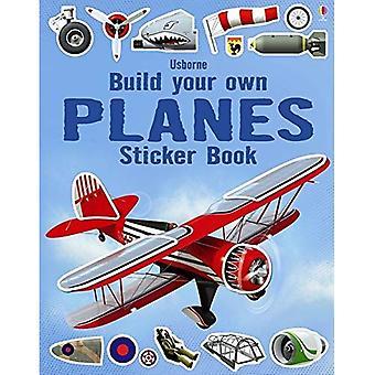 Bouwen van uw eigen vliegtuigen Sticker Book (Build uw eigen Sticker Books)