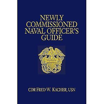 Recentemente commissionato Guida di ufficiale navale