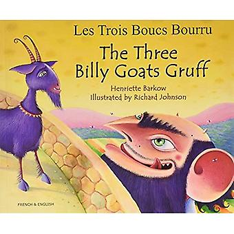 The Three Billy Goats Gruff in French & English