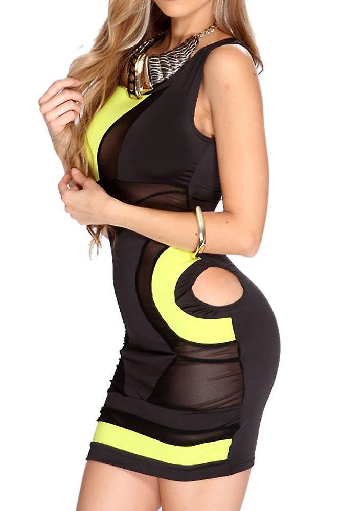 Waooh - short semi-transparent dress Dufa