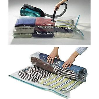 12 Packs of Storage Saving Space Clothes Bags - 80cm X 60cm