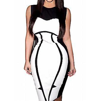 Waooh - kjole knæ figur mønster ka