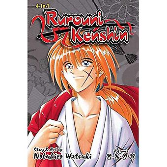 Rurouni Kenshin (4-in-1 Edition), Vol. 9: Includes vols. 25, 26, 27 & 28 (Rurouni Kenshin (3-in-1 Edition))