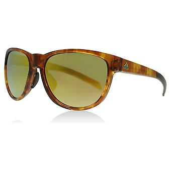 Adidas 425 6064 Brown Havana Gold Wildcharge Square Sunglasses Lens Category 3 Lens Mirrored Size 57mm