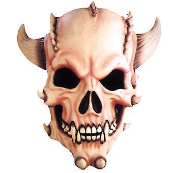 Dämon-Schädel-Maske für Halloween