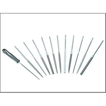 Bahco Needle Set of 12 2-472-16-2-0 16cm Cut 2 Smooth