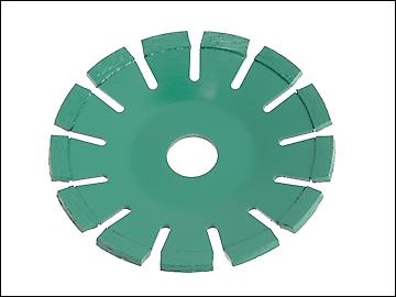 Faithfull Diamond Blade Green Concave Curve Cutting 115mm x 22.2mm