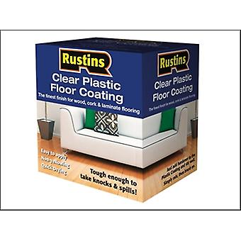 PLASTIC FLOOR COATING KIT SATIN 4 LITRE