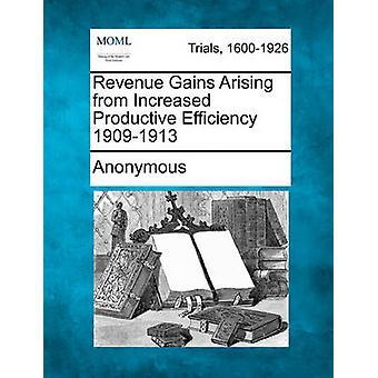 Inntekter gevinster som følge av produktiv effektivisering 19091913 av anonym