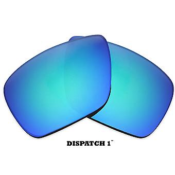 DISPATCH 1 Replacement Lenses Polarized Blue & Gold by SEEK fits OAKLEY