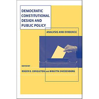 Democratic Constitutional Design and Public Policy - Analysis and Evid