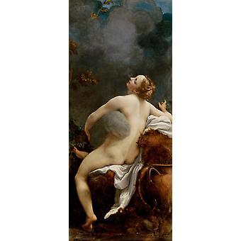 Fupiter og jeg, Correggio, 80x34cm