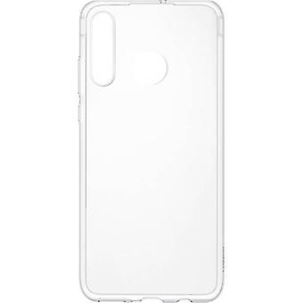 Flexible Clear Cover Transparent für Huawei P30 Lite 51993072 Original Tasche Etui Schutz Schale Abdeckung