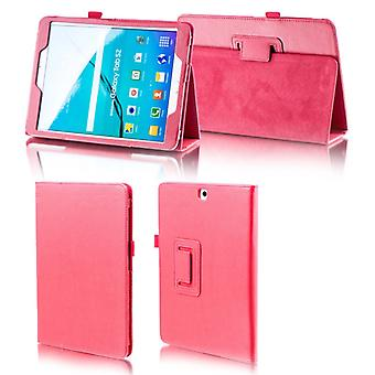 For Samsung Galaxy Tab S5e 10.5 T720F Red Faux Case Cover Bag Case New
