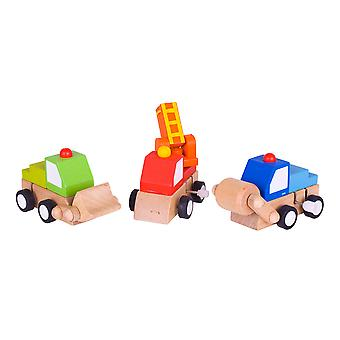 Bigjigs Toys Clockwork Vehicle