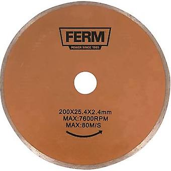 Diamond saw blade Ferm TCA1006 Diameter 200 mm 1 pc(s)