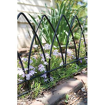 Gotische Boog tuin randstijl volle decoratieve