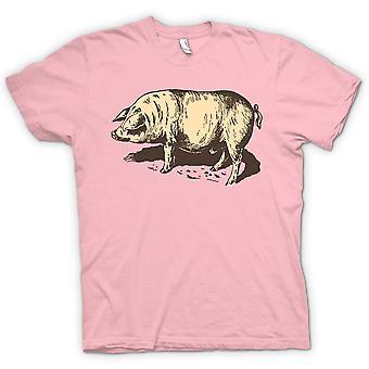 Mens T-shirt - I Love Pigs
