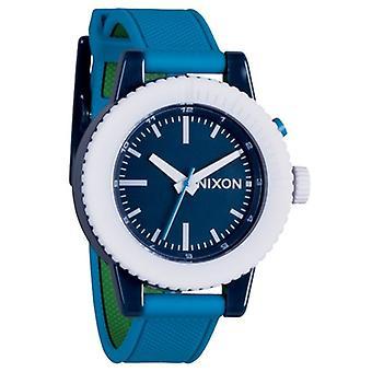 Nixon The Gogo Green Blue Navy Damenuhr (A287875)