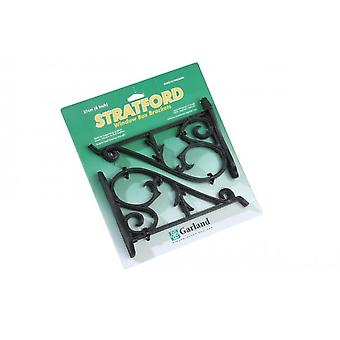 Stratford Support Brackets strong black Sold in Pairs strong