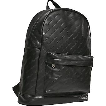 Urban Classics - Faux Leather Backpack Backpack Black