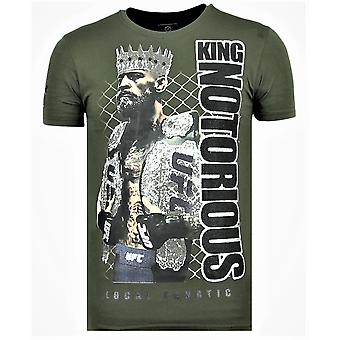 King Notorious-Summer T shirt men-6324G-Green