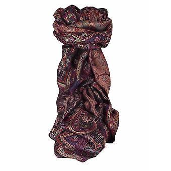 Mens Jamawar Premium Silk Scarf Pattern 6689 by Pashmina & Silk