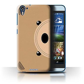 STUFF4 Case/Cover for HTC Desire 826/Bear/Animal Stitch Effect