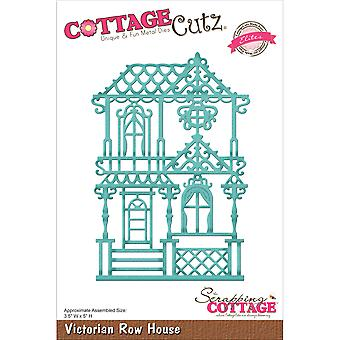 CottageCutz Elites Die -Victorian Row House 3.5