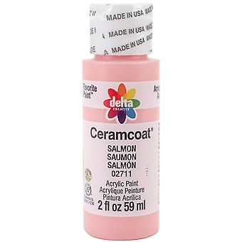 Ceramcoat Acrylic Paint 2oz-Salmon 2000-2711