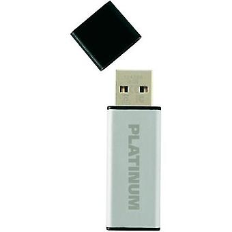 USB stick 8 GB Platinum ALU Silver 177556 USB 2.0