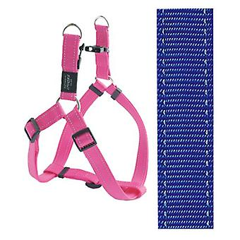Rogz For Dogs Fanbelt Step-in Blauw 20 Mmx53-76 Cm