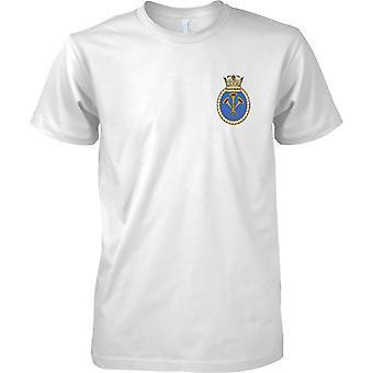 HMS Illustrious - Current Royal Navy Ship T-Shirt Colour