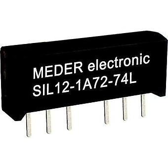 Reed relay 1 maker 24 Vdc 0.5 A 10 W SIL StandexMeder Electronics