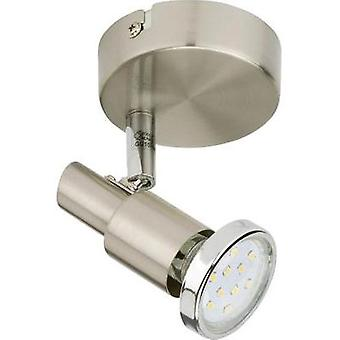 Ceiling floodlight LED GU10 3 W Briloner Cool 2991-012B Nickel (matt)