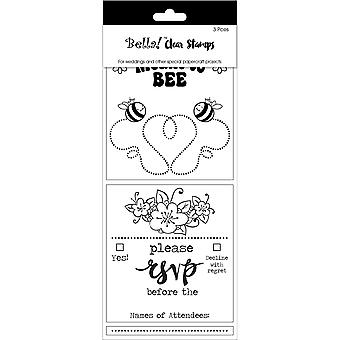 Bella! Wedding Clear Stamps 3.3