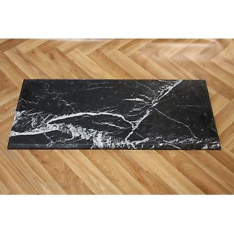 antik worked only waxed marble black 81x36x2cm Ma19