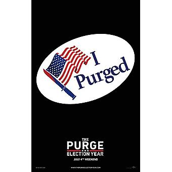 The Purge Election Year Movie Poster (11 x 17)